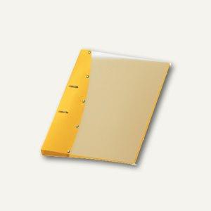 "Ringbuch "" Diamond"", DIN A4, PP, 2 D-Ringe Ø 20 mm, gelb, 12 Stück, 1141410"
