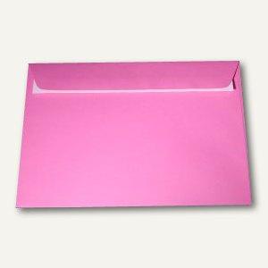 officio Briefumschlag DIN C5, 100 g/m², haftklebend, eosinrot, 250 Stück