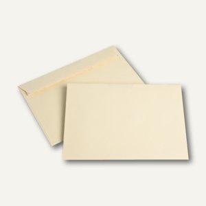 officio Briefumschlag DIN C5, 100 g/m², haftklebend, hellchamois, 250 Stück