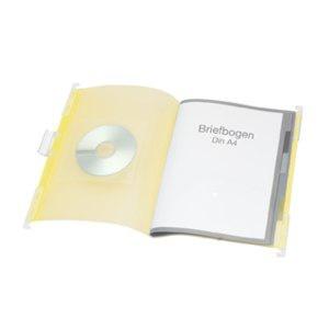 FolderSys PP-Hänge-Ordnungsmappe mit Register, Umschlag gelb, 10 Stück, 70042-64