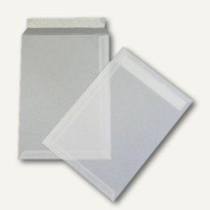 Versandtaschen B4 transparent, haftklebend, 100 Stück