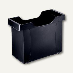 LEITZ Uni Hängemappen-Box Plus, stapelbar, Polystyrol, schwarz, 1908-00-95 - Vorschau