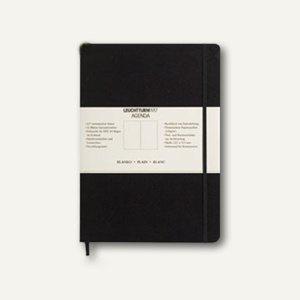 Agenda Notizbuch Pocket, 90 x 150 mm, 181 nummerierte Seiten, kariert, 318898
