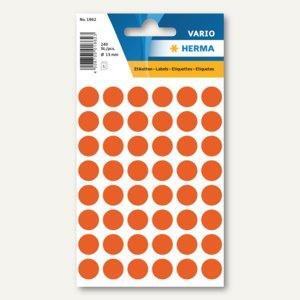 Herma Vielzweck-Etiketten, ø 13 mm, rot, 10 x 240 Stück, 1862 - Vorschau