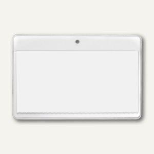 Veloflex Namensschild VELOCARD® 90 x 54 mm, Rundloch, ohne Clip, 100 St., 2020800