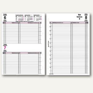 bind Kalendereinlage für DIN A5 Planer, 1 Tag = 1 Seite, B-5503