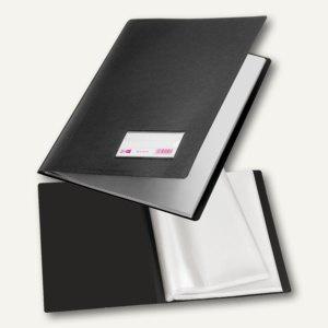Veloflex Sichtbuch, DIN A4, PP, Sichtfenster, 10 Hüllen, schwarz, 10St., 4410180