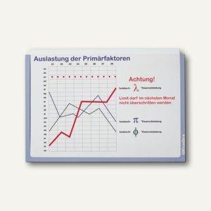Ultradex Infotaschen DIN A4, quer, selbstklebend, grau, 5 Stück, 878909