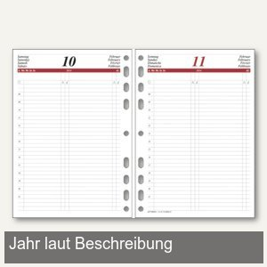 rido-idé Dohse ide Timing 1 Kalendarium 1 Tag/1 Seite, DIN A5, 70-65 900 001