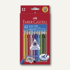 Faber-Castell Jumbo Grip Farbstift, 12 Stück, 110912