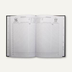 Chefkalender, 1 Tag/1 Seite, 210 x 150 (ca. DIN A5), Kunststoffeinband, schwar
