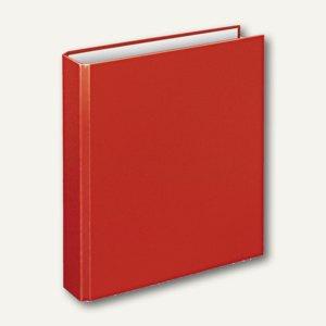 """Ringbücher """" Basic"""", DIN A5, PP, 4 D-Ringe Ø 30 mm, rot, 10 Stück, 4156 020"""