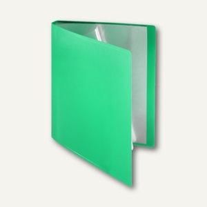 FolderSys Soft-Sichtbuch DIN A4, incl. 20 Hüllen, grün, 20 Stück, 25802-50