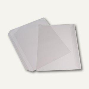 Briefumschläge Folie PP DIN C4, 100my, haftklebend, transparent, 700 Stück