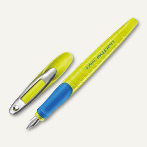 """Herlitz Schulfüllhalter """" my.pen"""", M-Feder, grün/blau, 10999779 - Vorschau"""