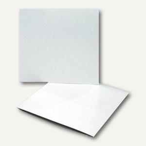 officio CD Kartonstecktasche, 125 x 125 mm, 100 Stück, 99023-1