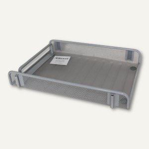 Rexel Ablagekorb für DIN A4, grausilber, 9800692