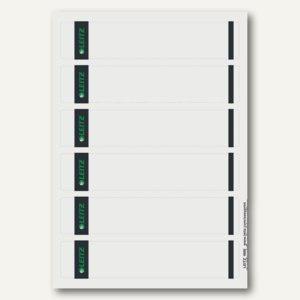 Rückenschilder für PC-Beschriftung, schmal/kurz, grau, 150 Stück, 1686-20-85
