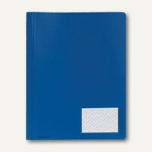 FolderSys Multi-Hefter A4, PP, blau, 30 Stück, 11004-40