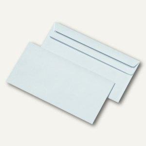 Briefumschlag DIN lang, ohne Fenster, selbstklebend, 75g/m², weiß, 1.000 St.