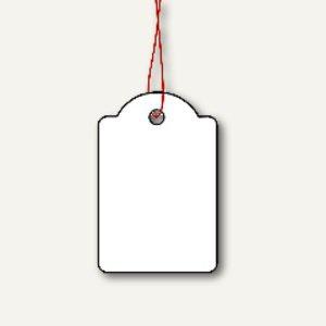 Herma Hängeetiketten mit Faden, 25 x 38 mm, rot, 1.000 St., 6915