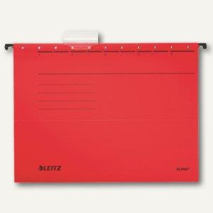 LEITZ Alpha Hängemappe für DIN A4, rot, 25er Pack, 19850025