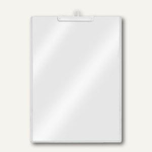 Plakattasche DIN A4 Hochformat, PVC, Haengeoese, glasklar, 10 Stück, 3344000