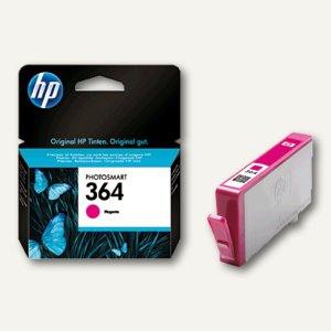 HP Tintenpatrone Nr.364, magenta, CB319EE
