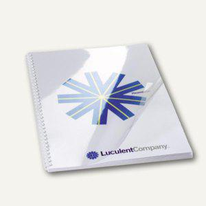 GBC Einbanddeckel HiClear, DIN A4, PVC, 200 mic., super klar, 100 St., CE012080E - Vorschau