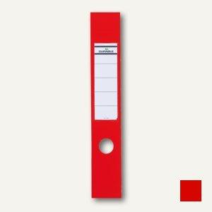 Selbstklebe-Ordnerrückenschilder Ordofix, 60 x 390 mm, rot, 40 Stück, 8090-03