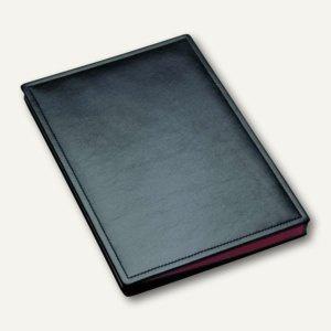 """Unterschriftenmappe """" Scala"""", für DIN A4, 20 Fächer, Rindsleder, schwarz, 34846"""