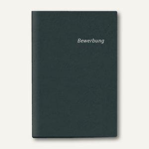 Bewerbungs-Heftmappe DIN A4, Karton, 2-teilig, schwarz, 10 Stück, 4941080