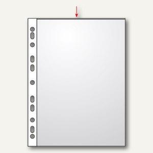Veloflex Prospekthüllen DIN A3 hoch, glasklar 80my, 100er Pack, 4333001