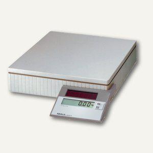 MAUL Solar-Paketwaage MAULparcel S, Tragkraft 50 kg, grau, 1745082