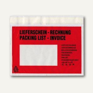 officio Lieferscheintasche, DIN C6, 162 x 114 mm, Lieferschein/Rechnung, 250 St.