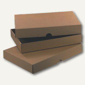 Stülpverpackung Normpack DIN A4++, 320x230x80mm, braun, 50 St., 5504926 - Vorschau