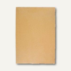 Faltentasche B4 Klotzboden 40 mm Falte, haftklebend, braun, 100 St., 3002868