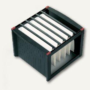 Helit Hängeregistratur-Gestell DIN A4, schwarz/rot, 260 x 360 x 380 mm, H6110092