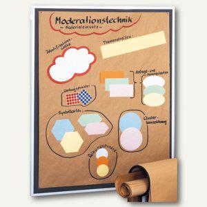 Franken Moderationspapier 140 x 110 cm, beige, 80 g/qm, 100er-Pack, UMZ MP