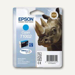 Epson Tintenpatrone T1002, cyan, 11.1 ml, C13T10024010