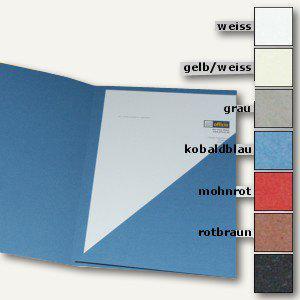 Präsentations-Mappe DIN A4, 360g/m²-Papier, hellweiß, 10er Pack, 997.705