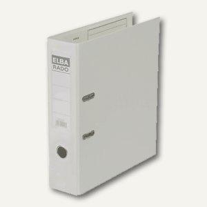 Elba Ordner RADO-Plast DIN A4, 80mm, weiß, 100022632