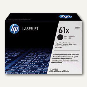 HP Toner 61X für LaserJet 4100 - ca. 10.000 Seiten, C8061X - Vorschau