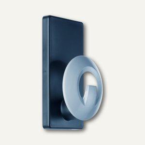 Magnetischer Kleiderhaken, Haftkraft 15kg, Haken: Kunststoff grau, 2856