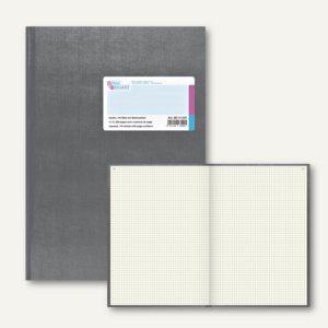 Geschäftsbuch Deckenband DIN A4, 144 Blatt mit Seitenzahlen, kariert, 8614223