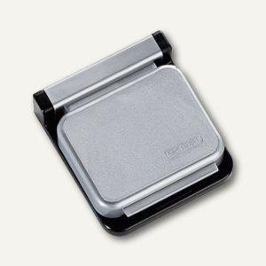 MAUL Magnetclip S, 3, 6 x 4 cm, selbstklebend, silber, 10 Stück, 6240094 - Vorschau