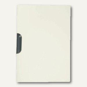 Elba Klemm-Mappe Clip-Fix image DIN A4, PP, weiß, 10 Stück, 100421015