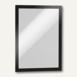 Durable Inforahmen DURAFRAME®, DIN A4, selbstklebend, schwarz, 2 Stück, 4872-01