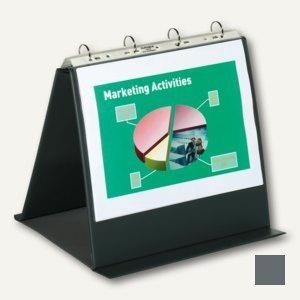 Durable Tisch-Flipchart Economy, DIN A4 quer, anthrazit, 8574-57