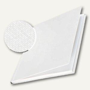 Buchbindemappe impressBind - DIN A4, 14.0 mm, Karton/Leinen, weiß, 10St., 7393-0 - Vorschau